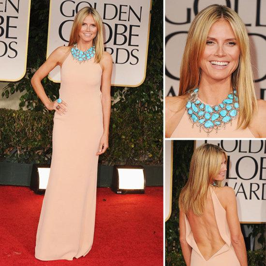 Heidi Klum – Calvin Klein – Golden Globes