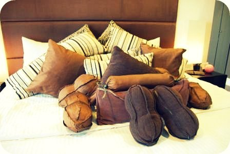 So many pillows