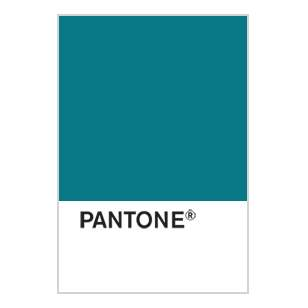Teal colour swatch