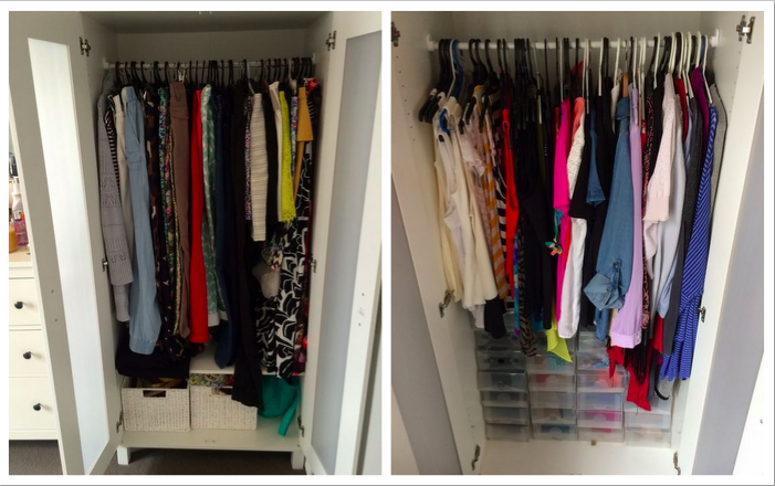 "To quote Carrie Bradshaw, ""I like my money where I can see it, hanging in my closet!"""