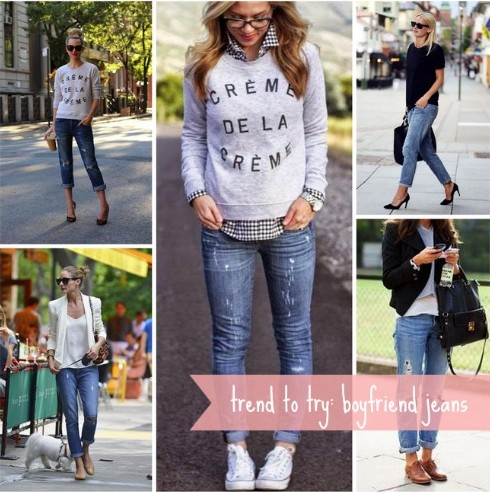 Trend to Try: Boyfriend Jeans