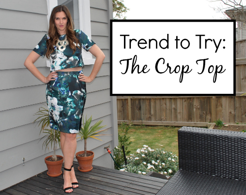 Trend to Try: Crop Tops