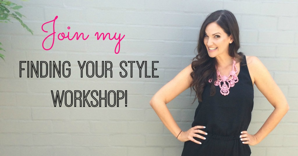 Finding Your Style workshop_not date