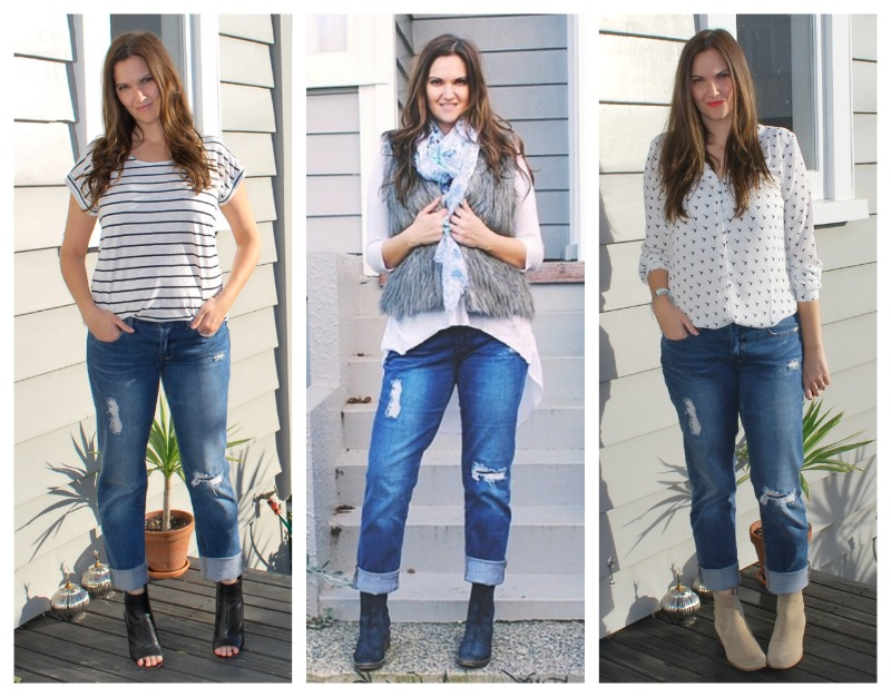 how to wear jeans and anle boots