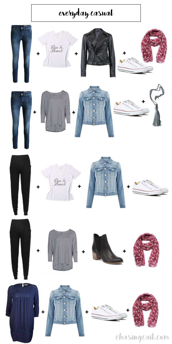 Casual Capsule Wardrobe_everyday casual