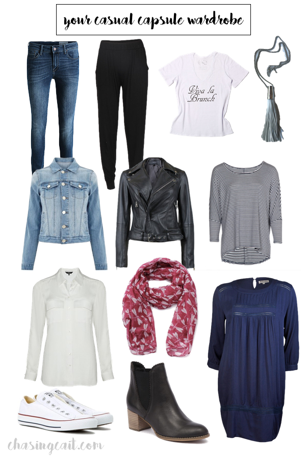 How to bulid a casual capsule wardrobe_chasingcait